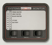 RV System Monitor 2 (part # 500-10050-35)